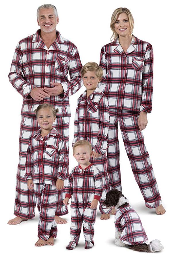Dog And Human Matching Christmas Pajamas